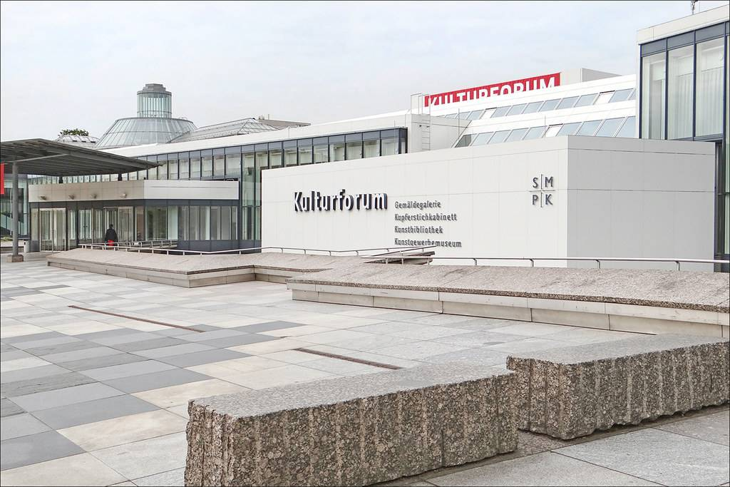 Берлинская картинная галерея в городе берлин