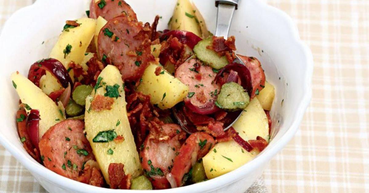 Салат картофельный немецкий - оригинальный рецепт из картофеля