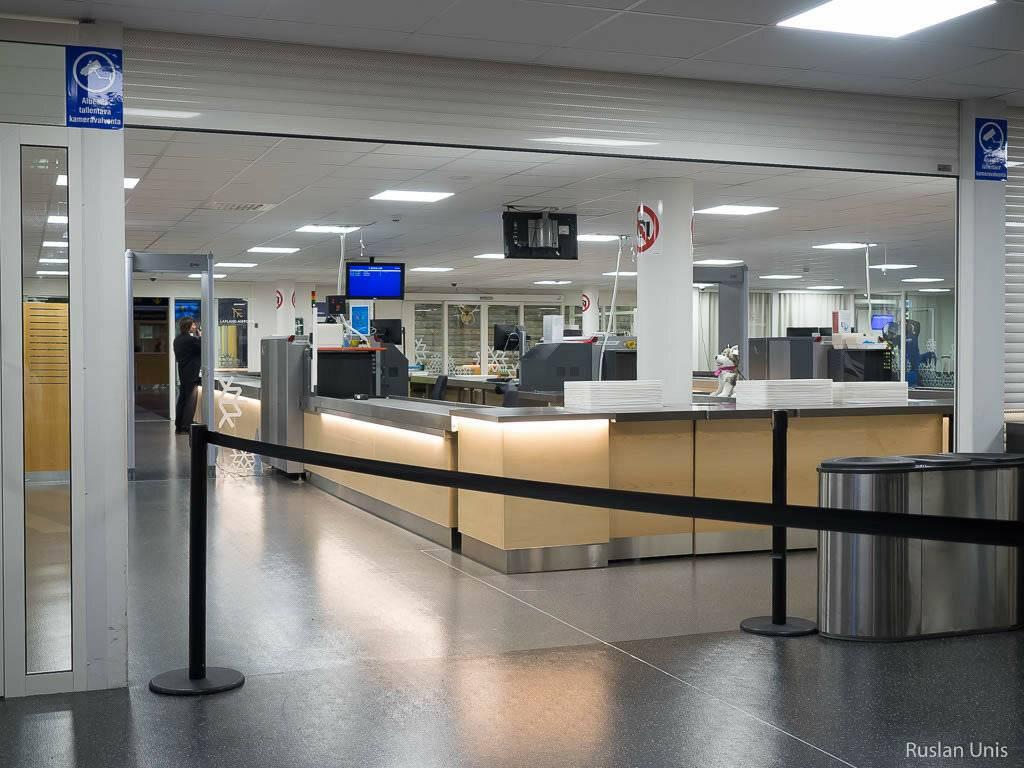 Международный аэропорт лаппеенранты