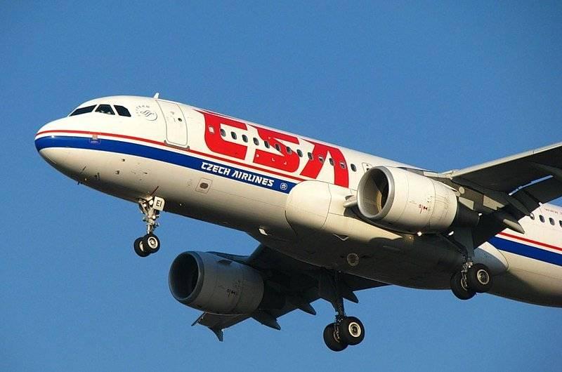 Чешские авиалинии - czech airlines - чехия
