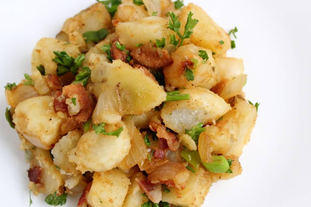 """Картофельный салат """"немецкий"""": рецепт, способ приготовления, состав и отзывы"""