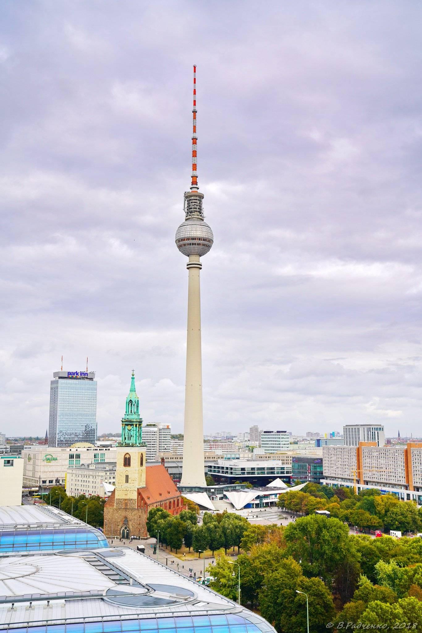Берлинская телебашня — википедия. что такое берлинская телебашня