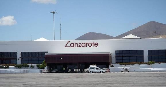 Аэропорт лансароте, канарские острова, испания