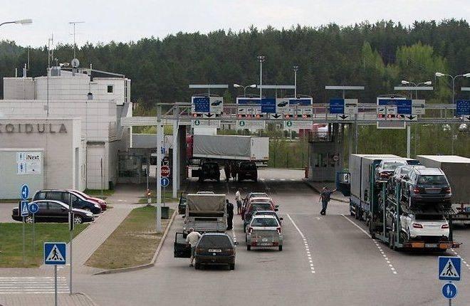 Граница эстония - россия: прохождение, привилегии