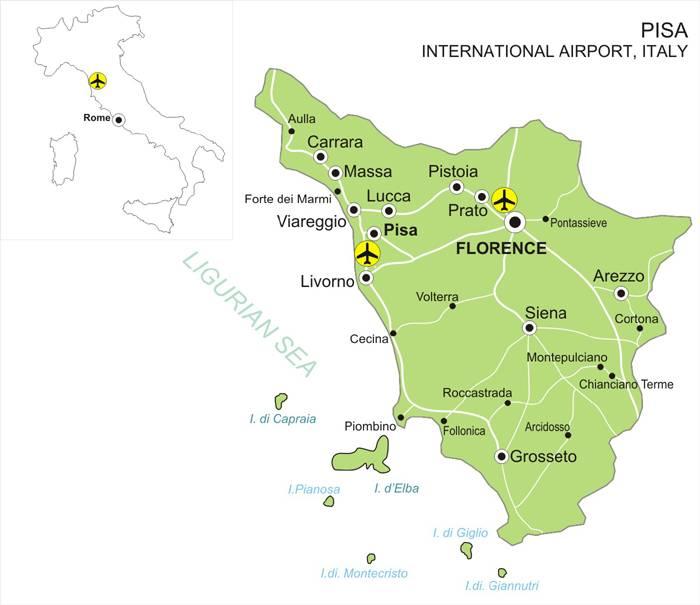 Полный список итальянских аэропортов | www.rivitalia.com
