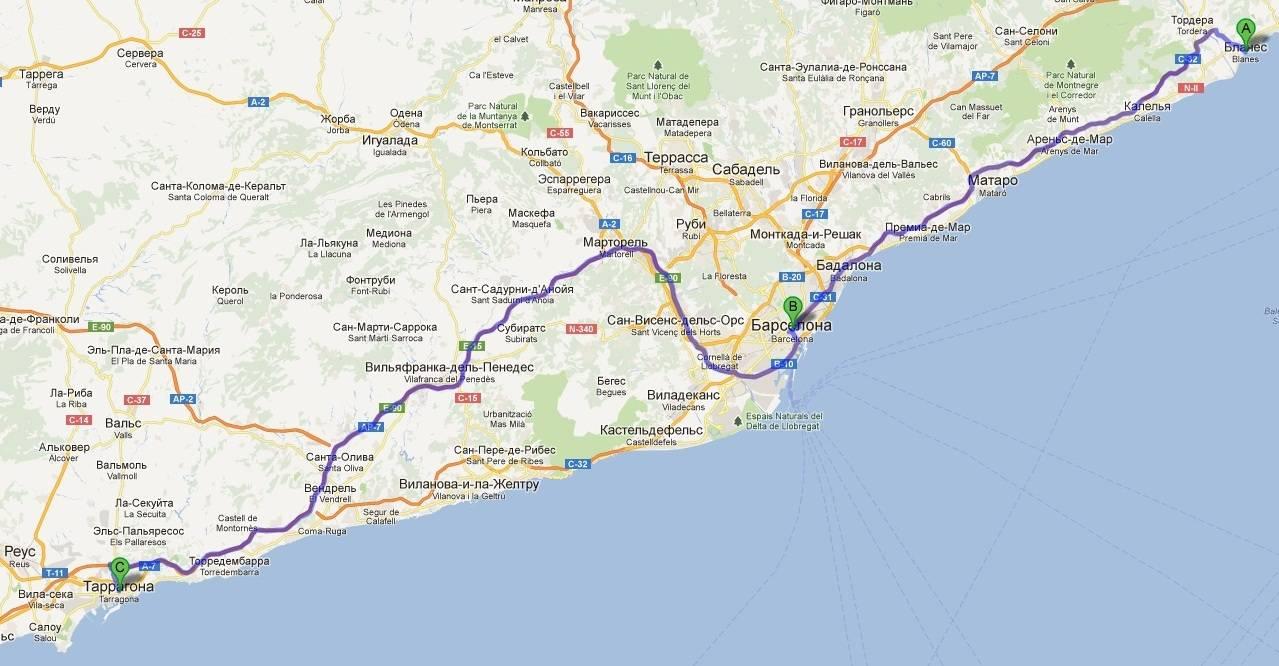 Как добраться из барселоны в таррагону: поезд, автобус, такси. расстояние, цены на билеты и расписание 2021 на туристер.ру