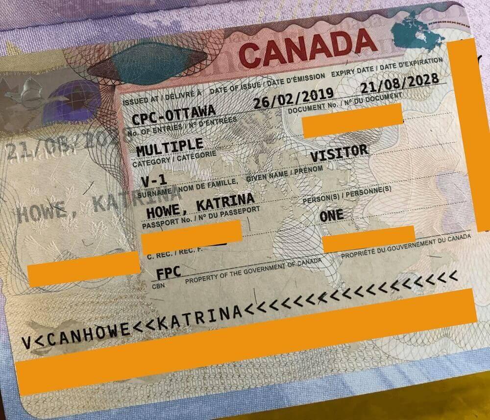 Виза в канаду для россиян 2021, как получить, стоимость, оформление документов
