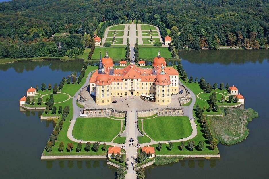 Экскурсии из дрездена, замок морицбург