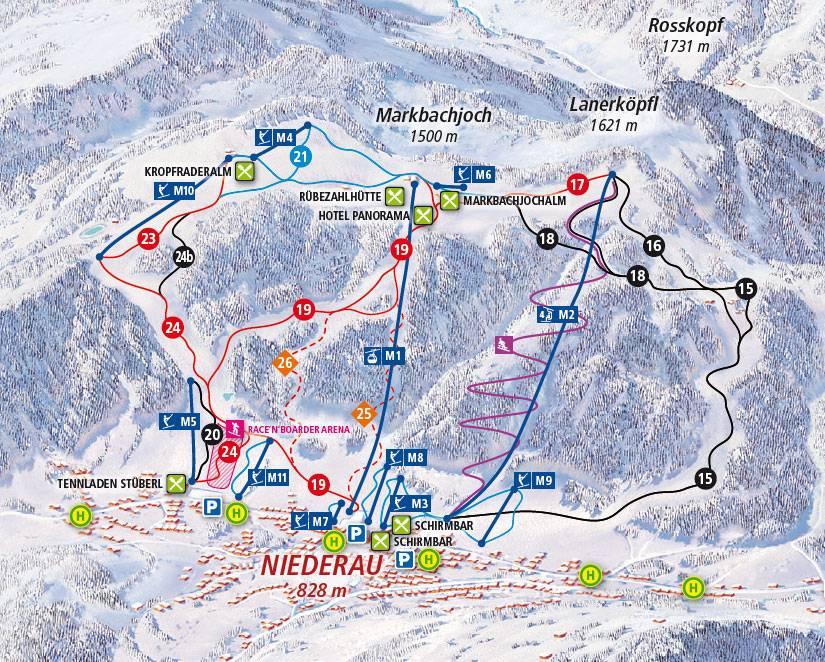 Гальтюр / galtur - горнолыжные курорты и склоны австрии