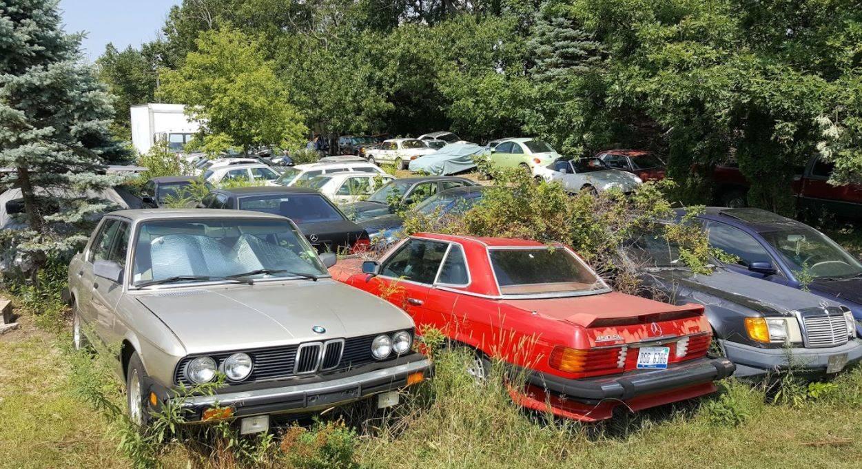 12 автосвалок, где можно найти редкие автомобили