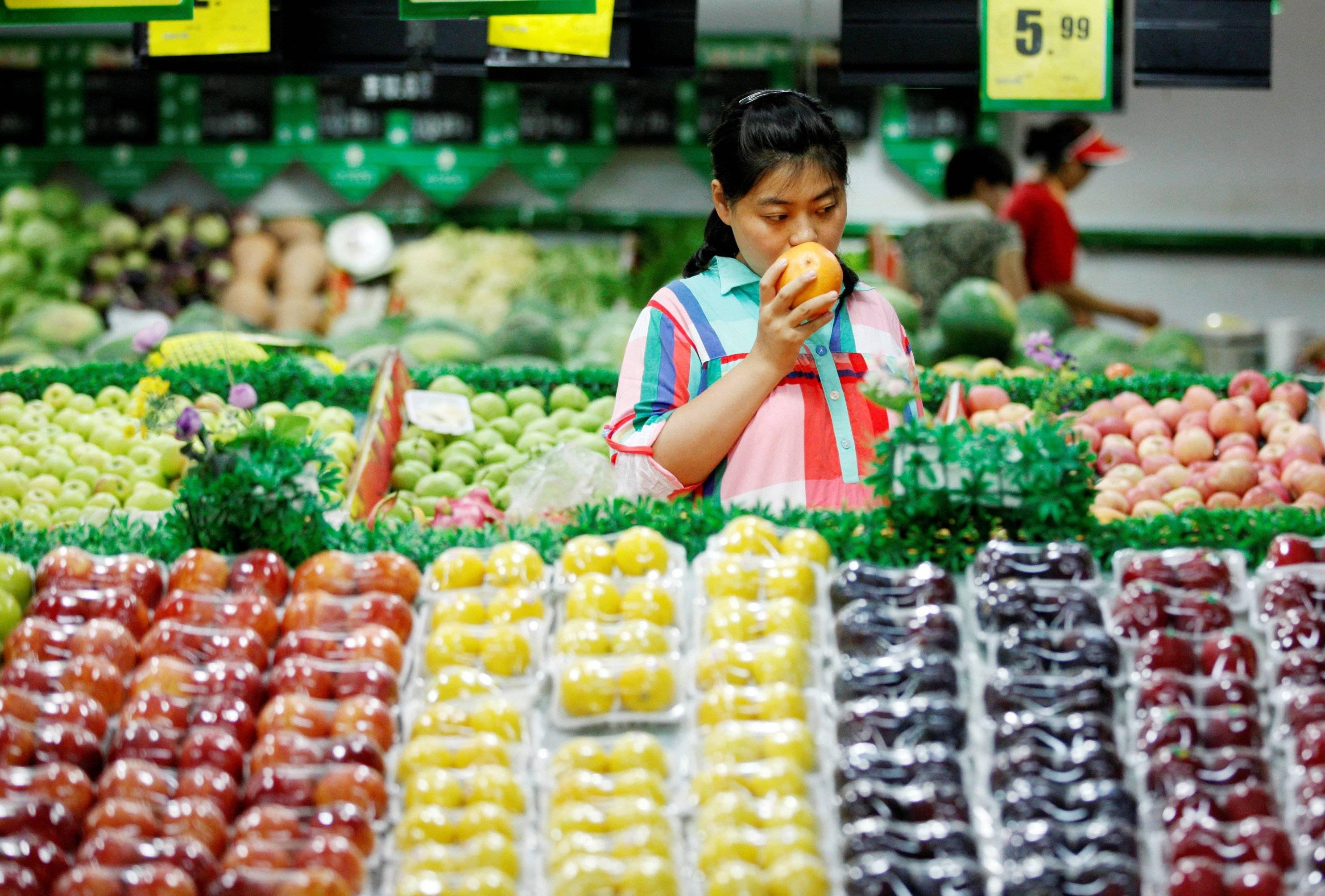 Цены в супермаркетах острова хайнань, китай