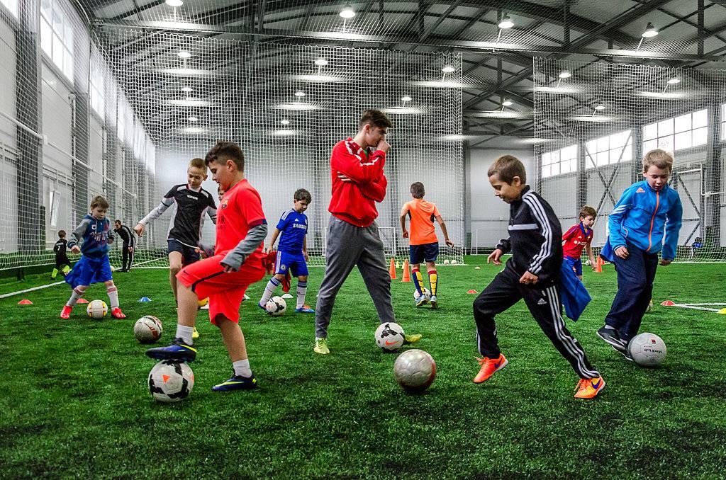 Методики тренировок детей футболистов в испании
