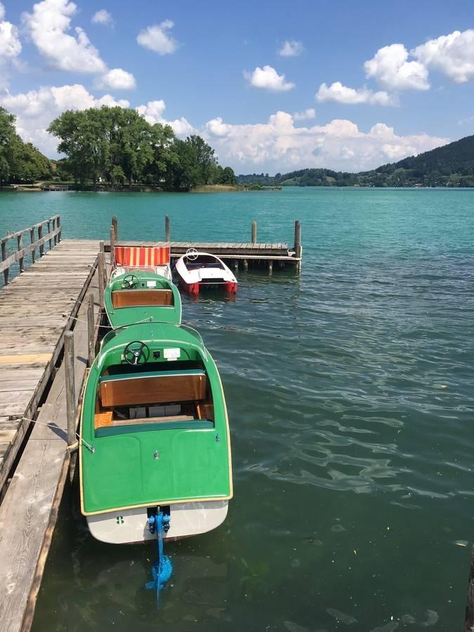 Баварский версаль херренкимзее на озере кимзее