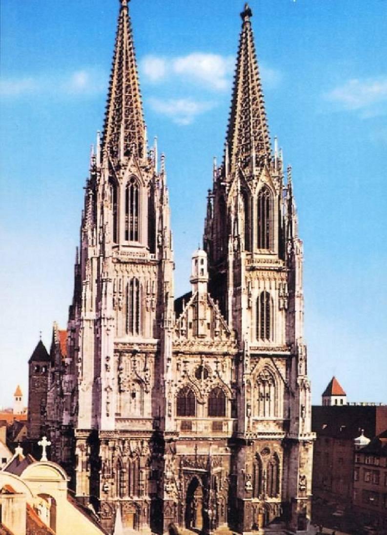 Старинные храмы и соборы нюрнберга