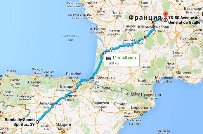 Как быстро добраться из Барселоны в Бильбао