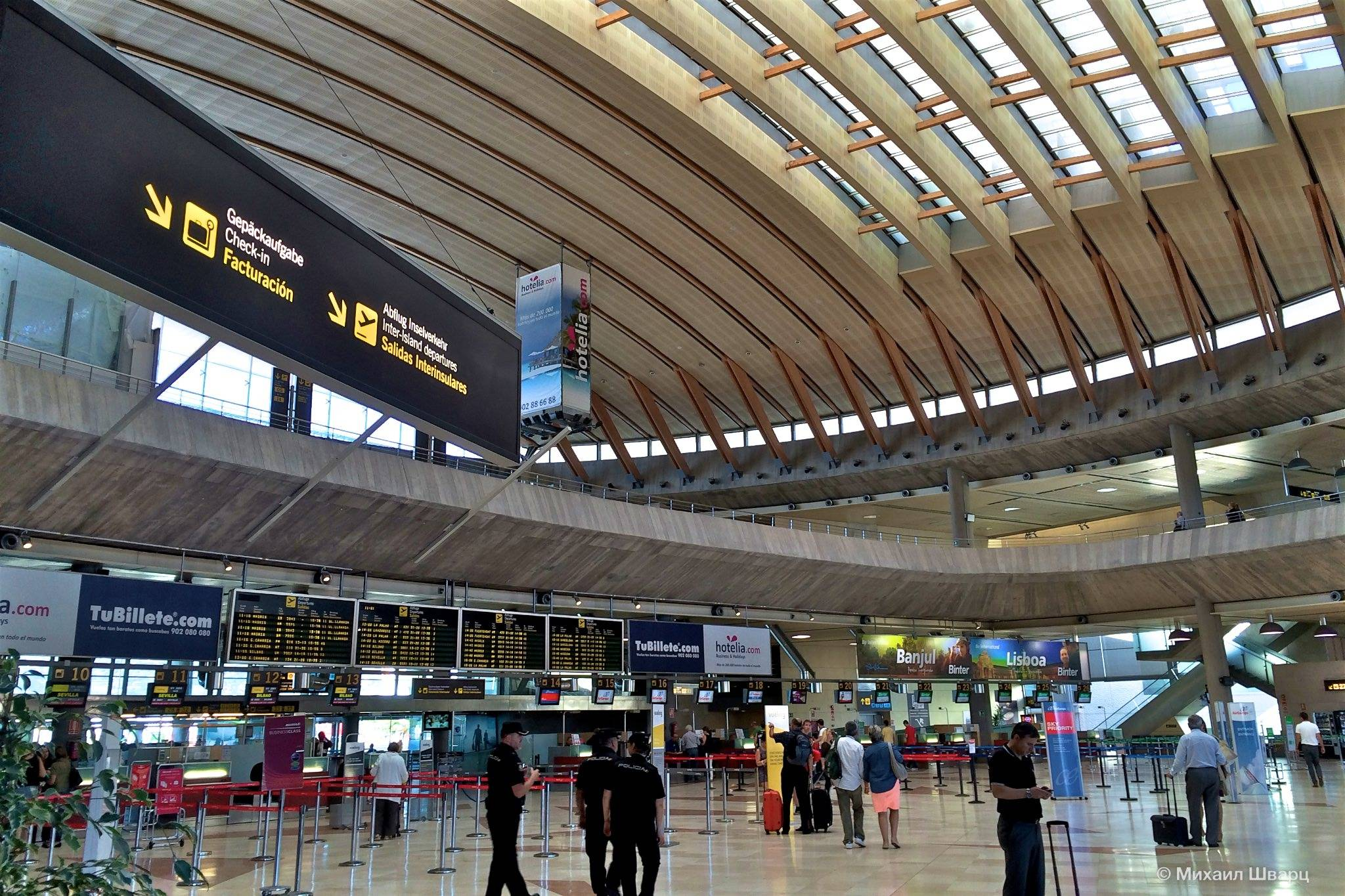Обзор аэропортов на острове тенерифе