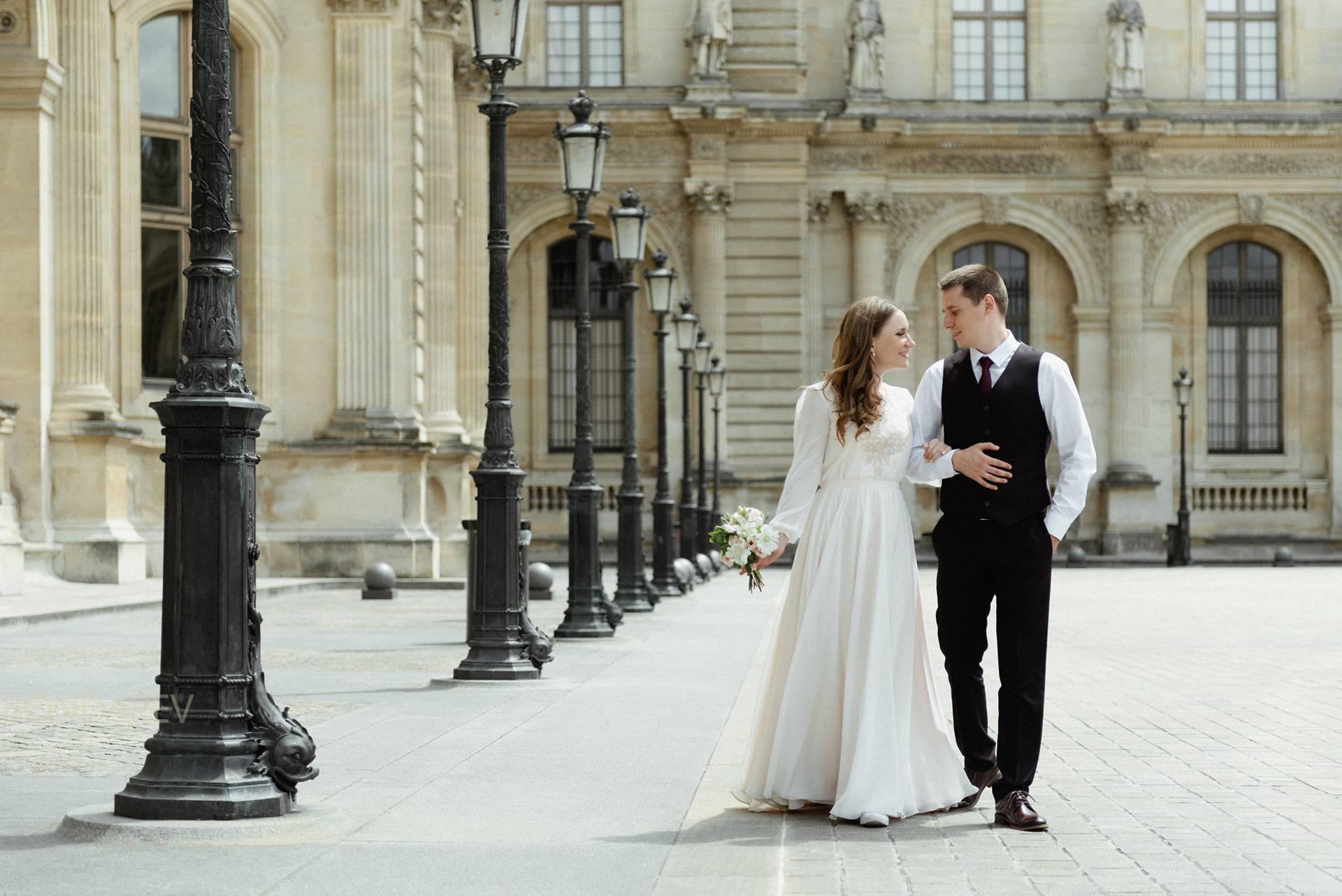 Романтика традиционной французской свадьбы