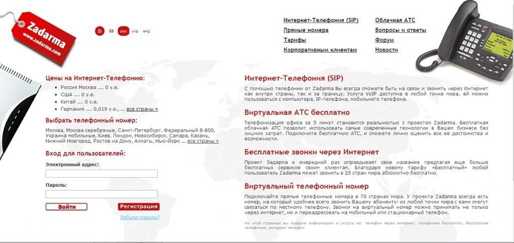 2 сервиса для бесплатных международных звонков
