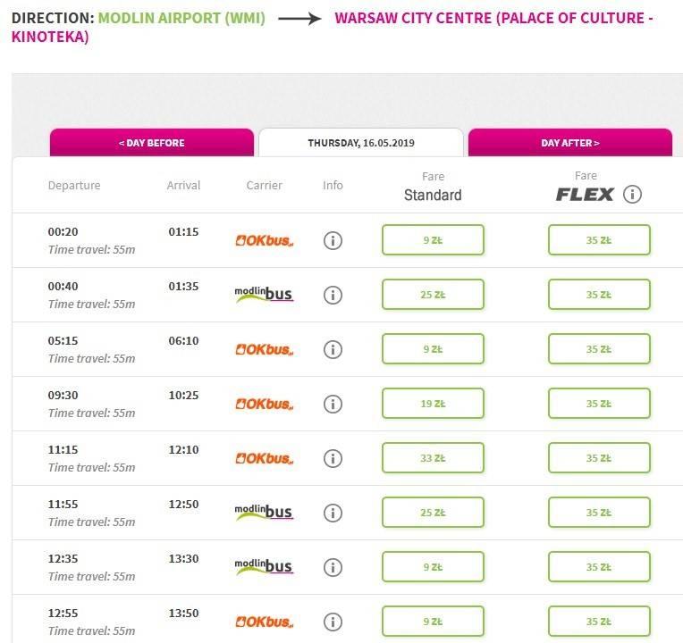 Аэропорт модлин варшава: онлайн-табло вылета и прилета