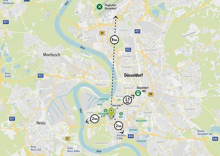 Достопримечательности дюссельдорфа - что посмотреть в 2021-м. полный гид по знаковым местам