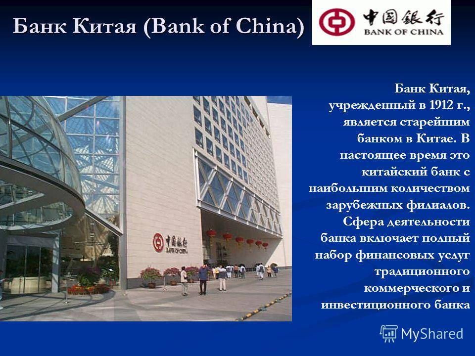 Все о банковской системе китая в  2021  году