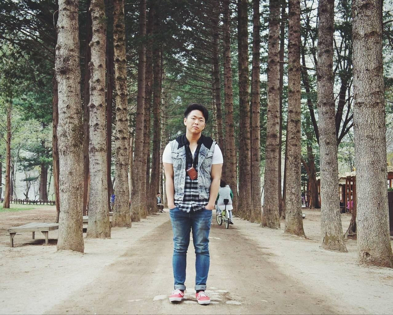 Простые люди в южной корее