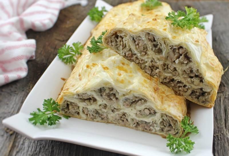 Немецкий штрудель с мясом и капустой: пошаговый рецепт вкуснейшего блюда - ladiesvenue.ru