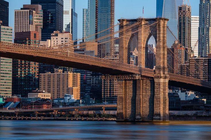 Бруклинский мост в нью-йорке: история и устройство в цифрах и фактах