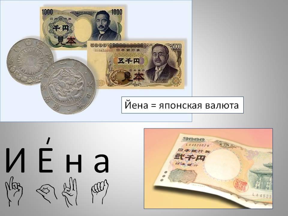 Банкноты японии