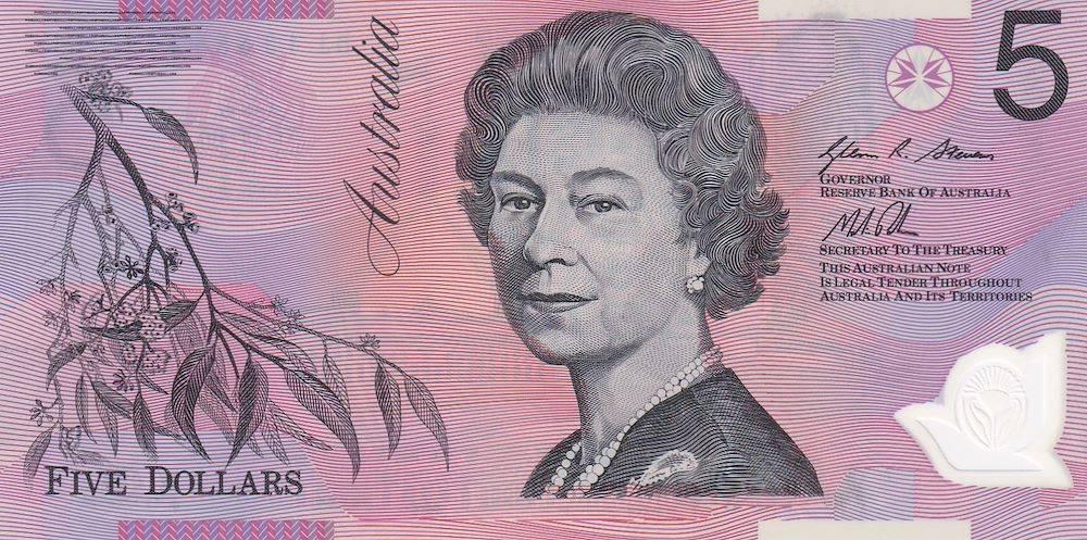 1 австралийский доллар в рублях