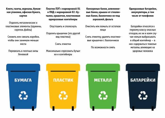 Раздельный сбор мусора: как правильно сортировать отходы для переработки?