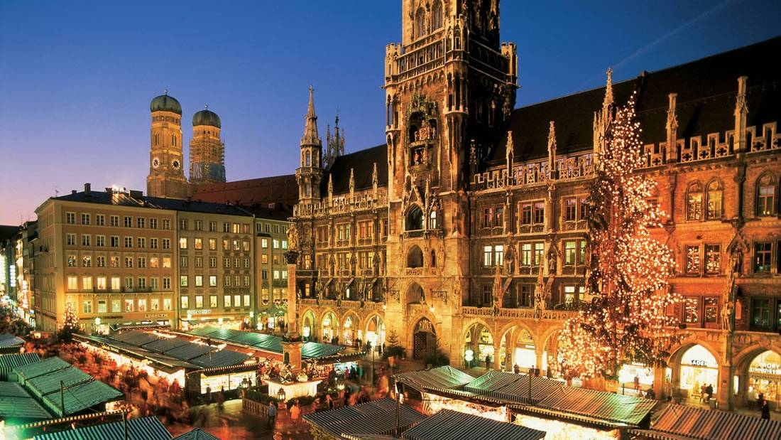 Куда сходить в мюнхене зимой?