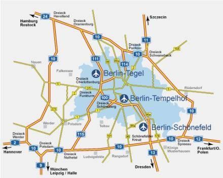 Какой транспорт ходит от аэропорта шенефельд до берлина?
