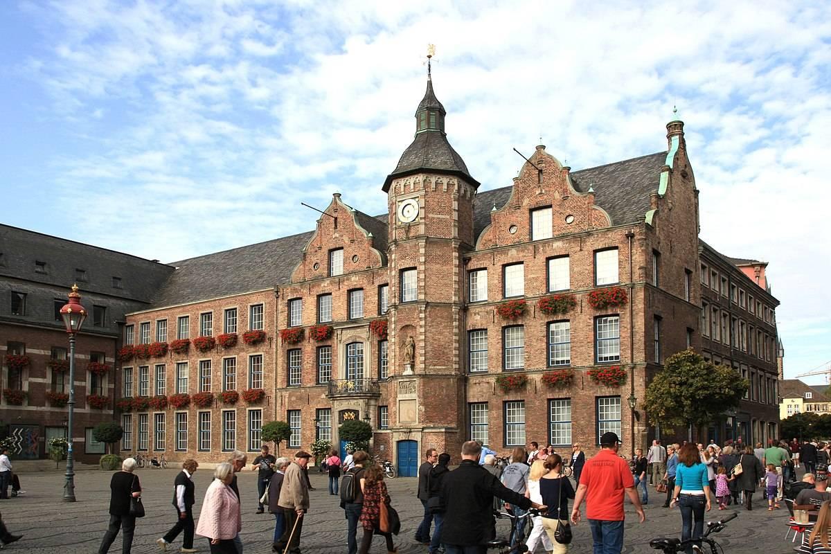 В дюссельдорф на 1-2 дня: маршрут прогулки | за порогом