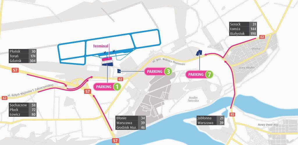 Аэропорт варшава-модлин: как добраться | информация для туристов