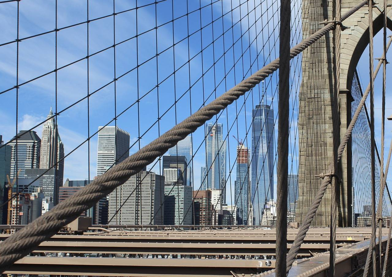 Бруклинский мост, нью-йорк: фото, история