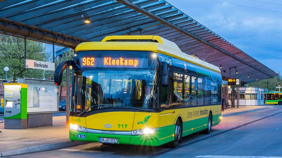 Общественный транспорт в германии