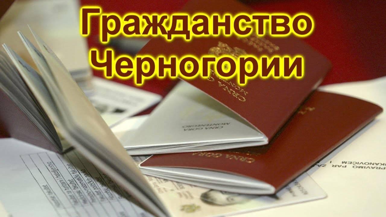 Как получить гражданство черногории в 2021 году: способы