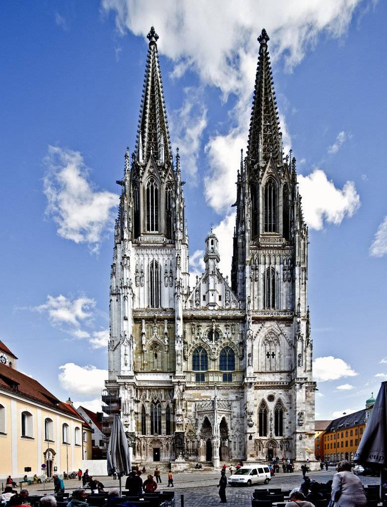 Регенсбургский собор — шедевр немецкой готики