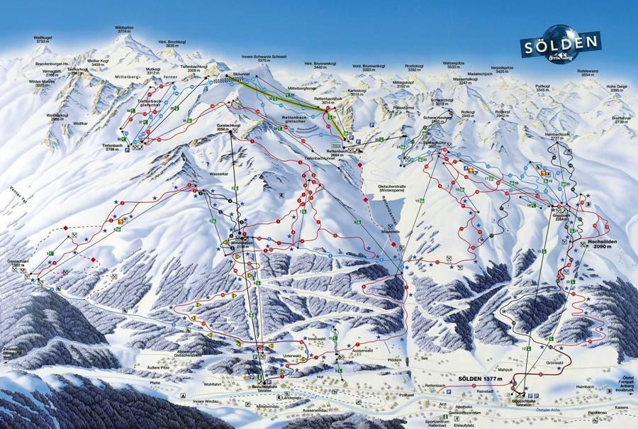 Куда и как добраться до крупных горнолыжых курортов из меммингена?
