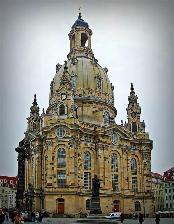 Церковь фрауэнкирхе в дрездене, дрезден. церковь богородицы, как восстанавливали, фото, отели рядом, видео, как добраться — туристер.ру