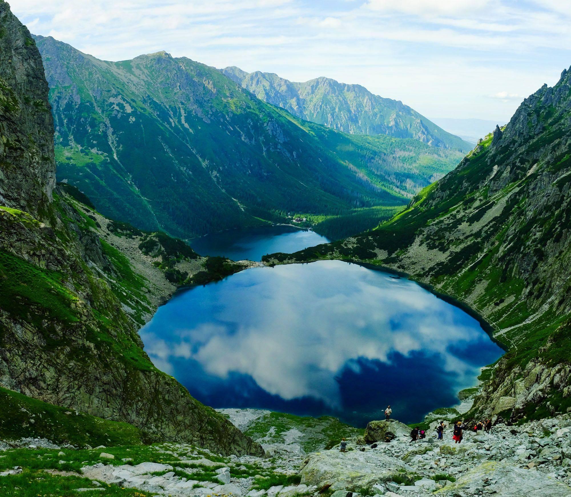 Озеро морской глаз — где находится, как доехать, фото, отдых на озере 2021, легенды, отели рядом на туристер.ру