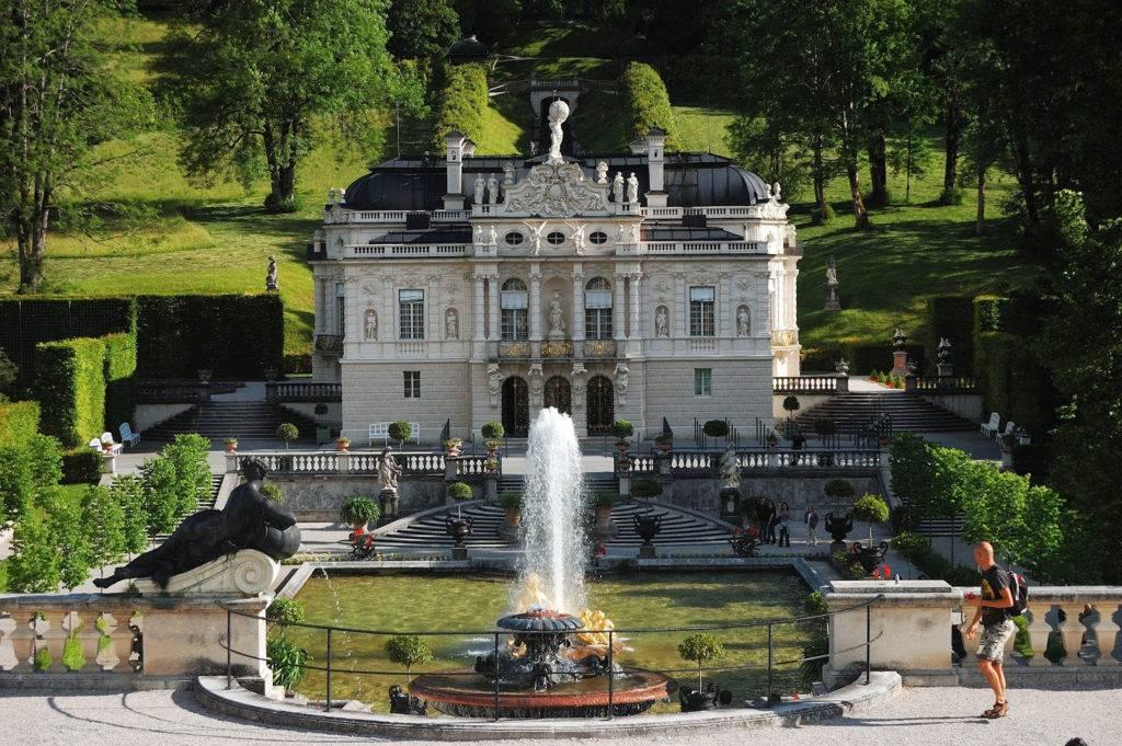 Бавария. замок линдерхоф.   экономичные путешествия
