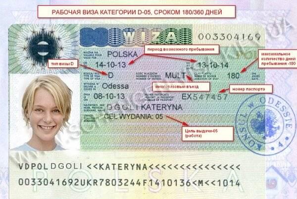Учебная (студенческая) виза в польшу в 2021 году: документы, продление