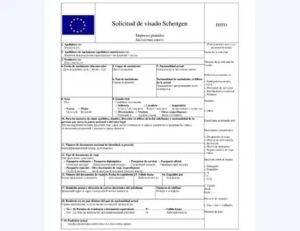 Список документов на испанскую визу: стандартный комплект