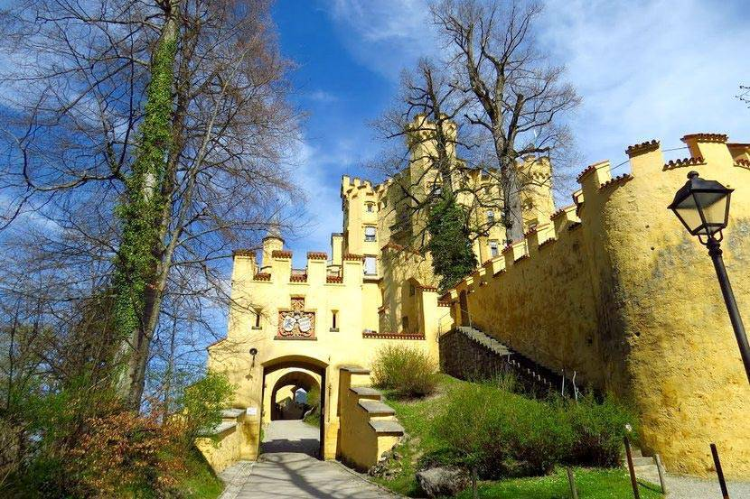 Замок хоэншвангау: история, описание, фото