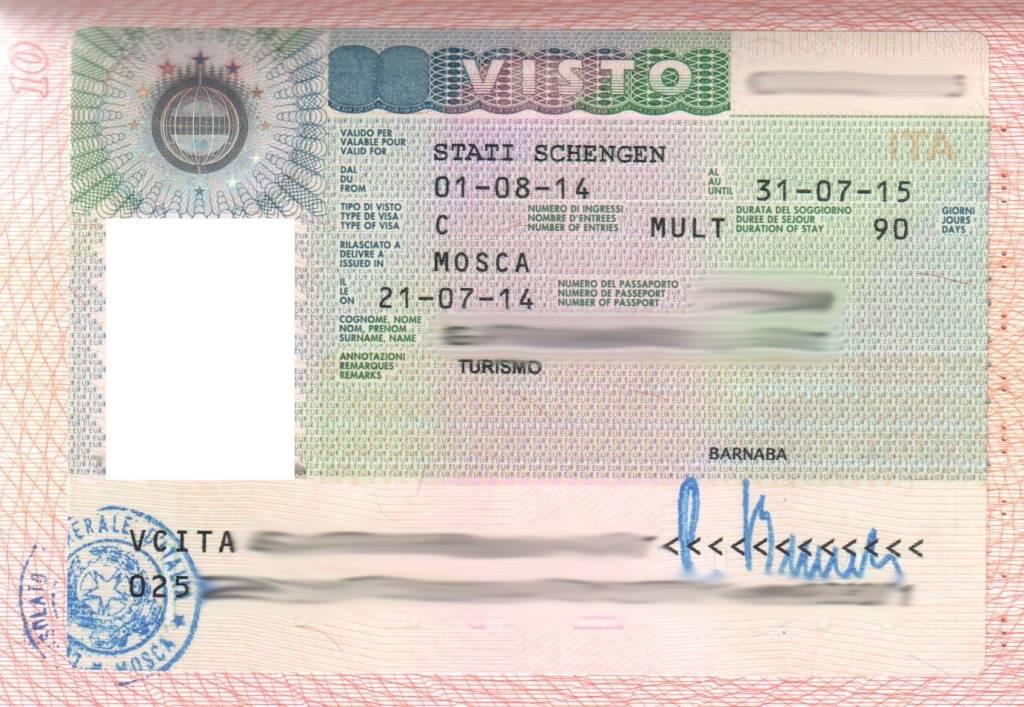 Оформление визы в италию в москве 2021 году.