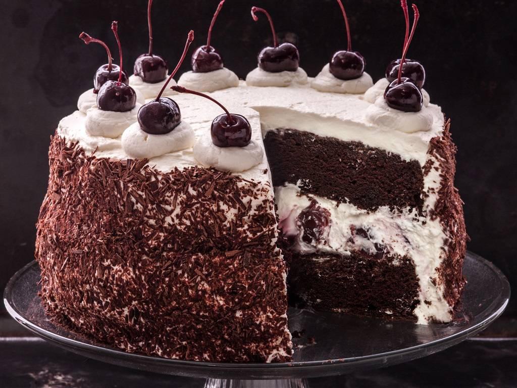 Как приготовить шварцвальдский вишневый торт («черный лес»): пошаговый рецепт