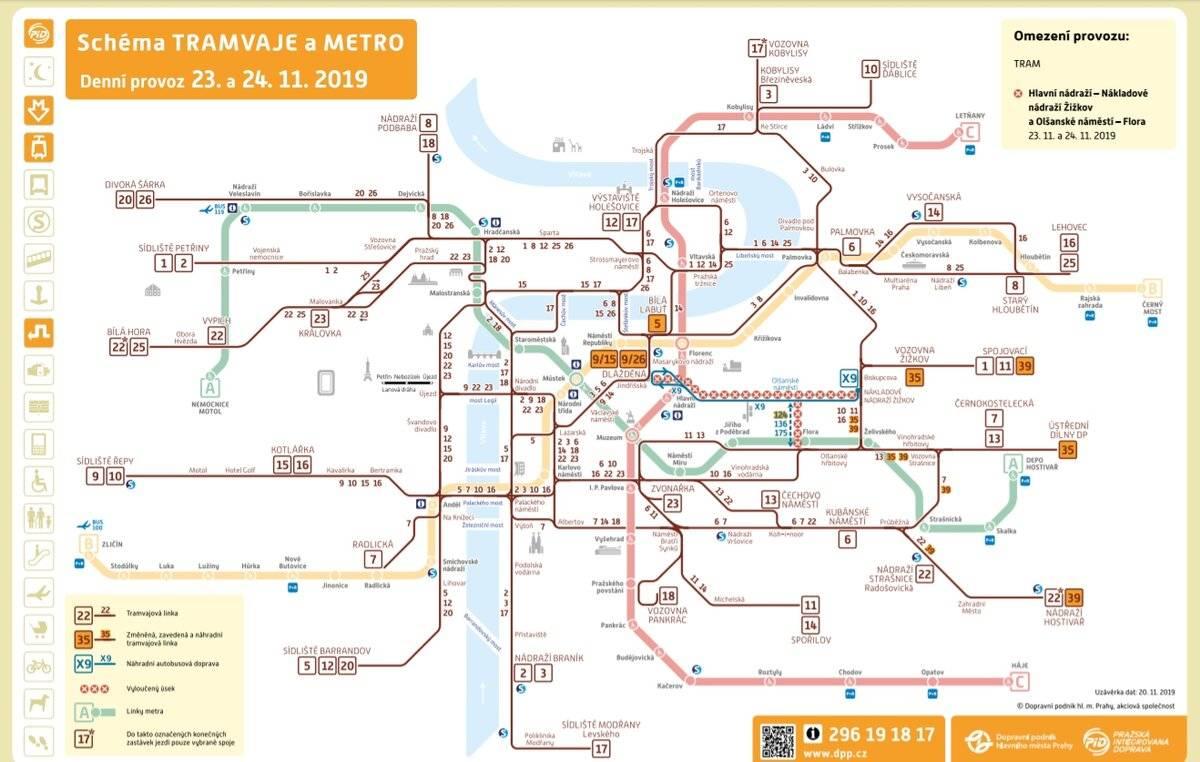 Городской транспорт - экономное передвижение по праге