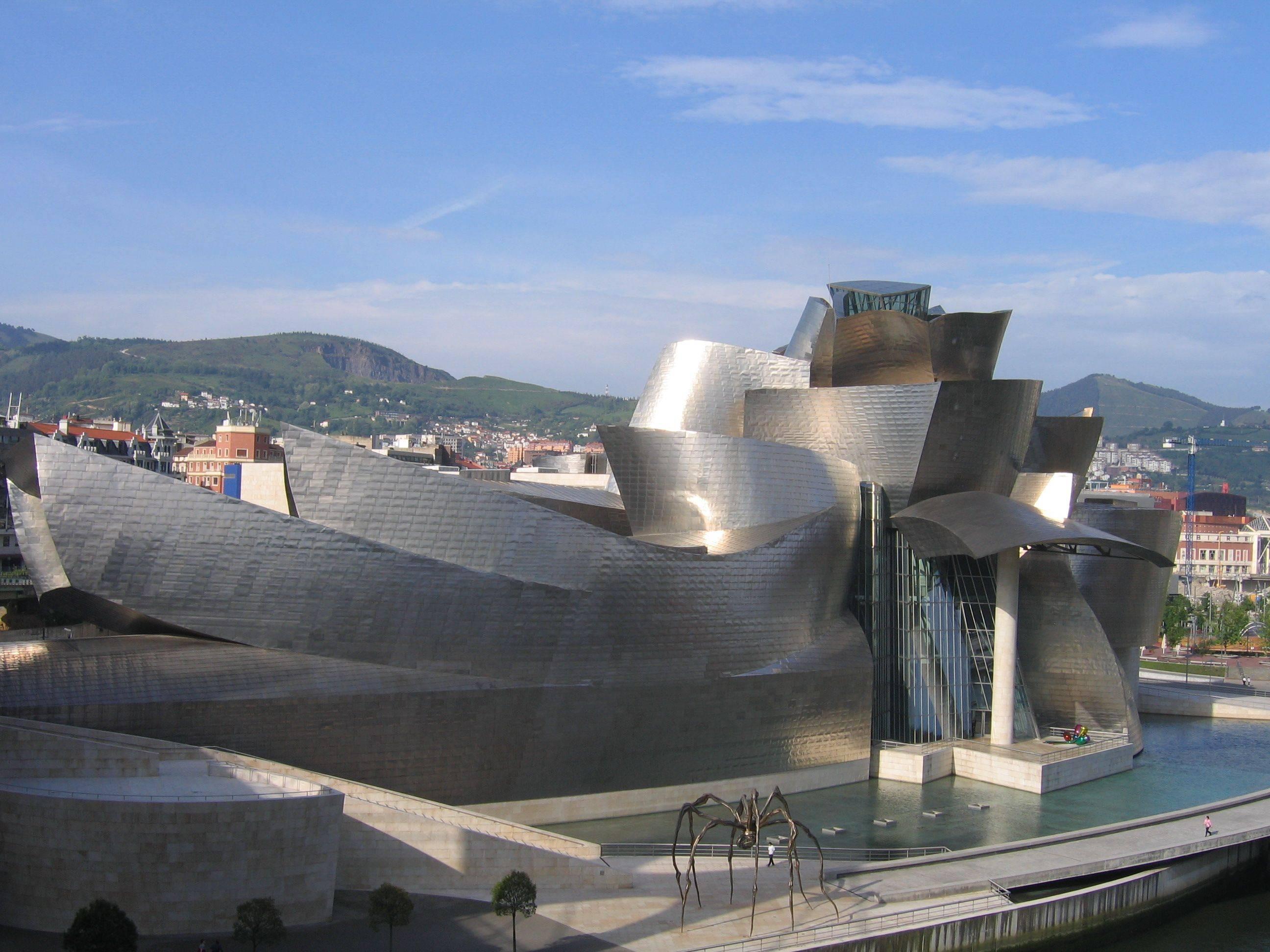 Музей гуггенхайма в бильбао: величайшая постройка современности